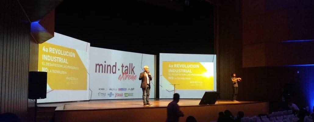 Gonzalo Ibarra durante el evento de MindTalk 2019