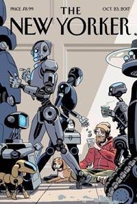 Portada de New Yorker 2017 sobre la automatización